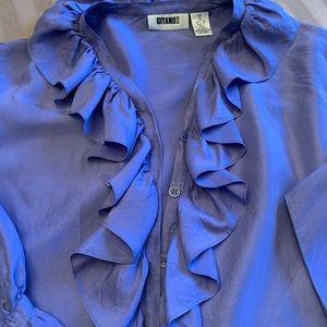 Gitano silk button down shirt